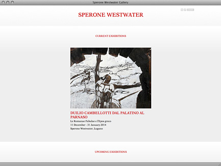Sperone Westwater