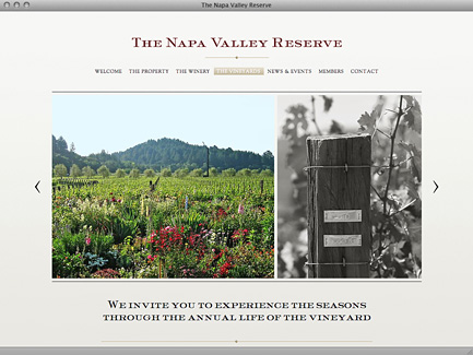 The Napa Valley Reserve