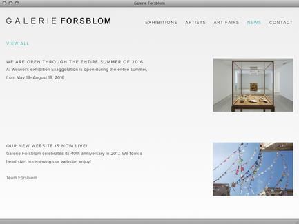 Galerie Forsblom