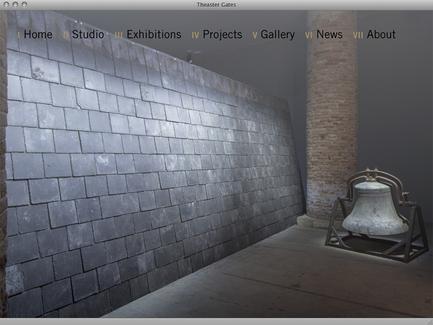 Theaster Gates - News - exhibit-E | Website Design for the Art World