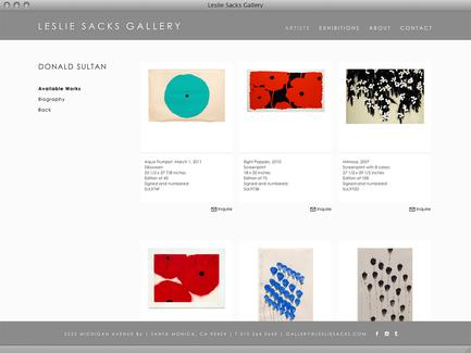 Leslie Sacks Gallery