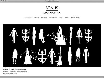Venus Over Manhattan - News - exhibit-E