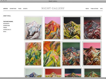 Night Gallery - News - exhibit-E